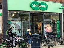 Specsavers store royalty free stock images