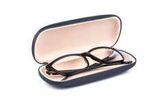 Spectacle case Royalty Free Stock Photography