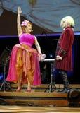 Spectacle comportant Filharmonia Futura et M Walewska - l'opéra est la vie, Photos stock