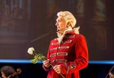 Spectacle comportant Filharmonia Futura et M Walewska - l'opéra est la vie, Images libres de droits