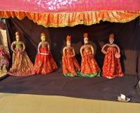 Spectacle de marionnettes image libre de droits