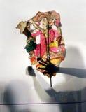 Spectacle de marionnettes indien d'ombre photos stock