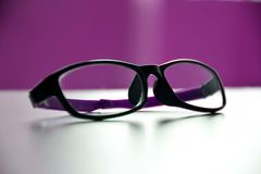 Spectacle & eye-were. It is a delicate spectacle protect our eyes & look cute stock photo