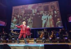 Spectacle featuring Filharmonia Futura and M.  Walewska - Opera Is Life Royalty Free Stock Photos