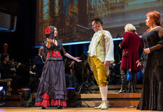 Spectacle featuring Filharmonia Futura and M.  Walewska - Opera Is Life, Royalty Free Stock Photography