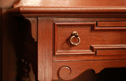 Spectacle of room furniture. Spectacle of wooden furniture in the room Stock Photography