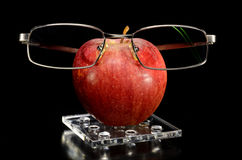Spectacled apple Royalty Free Stock Photos
