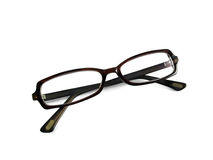 Spectacles. Isolated fashionable spectacles over white background stock photo