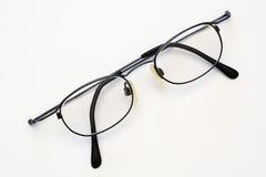Spectacles. A pair of spectacles on a white background Royalty Free Stock Photography