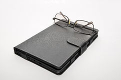 Spectacles electronic book Stock Images