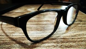 Spectacles. Glasses for magnifying vision Royalty Free Stock Photography