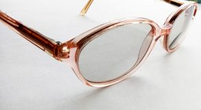 Spectacles. Glasses for magnifying vision Royalty Free Stock Image