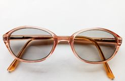 Spectacles. Glasses for magnifying vision Stock Photo