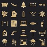 Spectacles icons set, simple style. Spectacles icons set. Simple set of 25 spectacles vector icons for web for any design vector illustration