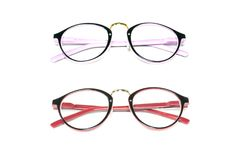 Spectacles isolated on white background. Glasses model. Fashion Royalty Free Stock Images