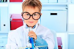 Spectacles kid Royalty Free Stock Photography