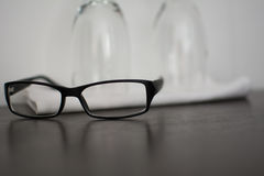 Spectacles with legs Royalty Free Stock Photo