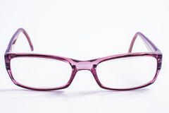 Spectacles. Modern spectacles isolated on white background. close up Stock Images