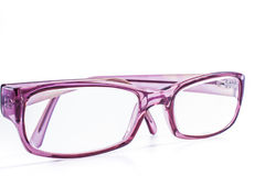 Spectacles. Modern spectacles isolated on white background. close up Royalty Free Stock Photos