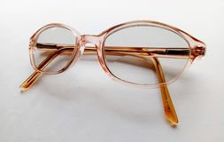 Spectacles. Glasses for magnifying vision Royalty Free Stock Photos