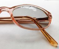Spectacles. Glasses for magnifying vision Royalty Free Stock Photo