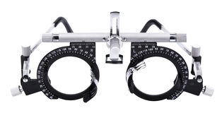 Isolated Eyesight Testing Spectacles Royalty Free Stock Photography