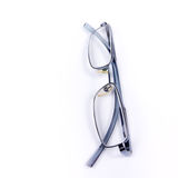 Spectacles on White Stock Images