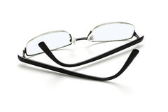 Spectacles on white Royalty Free Stock Photography