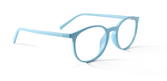 Spectacles  on white Royalty Free Stock Photo