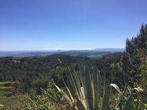 Spectaculair Costa Del Sol een mening aan Estepona Stock Fotografie