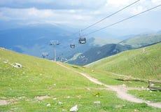 Spectaculair hoogste panorama van de Pyreneeën Stock Fotografie