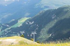 Spectaculair hoogste panorama van de Pyreneeën Royalty-vrije Stock Fotografie