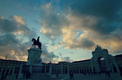 Spectaculair Lissabon Stock Afbeelding