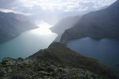 Spectaculaire mening, Scandinavië Royalty-vrije Stock Afbeelding