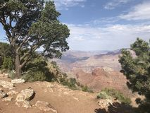 Spectaculaire mening van Grand Canyon Stock Afbeelding