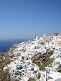 Spectaculaire Santorini. Stock Afbeeldingen