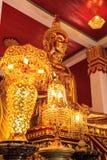 Spectaculaire tempel van het architectuur de boeddhistische kunstwerk stock afbeeldingen