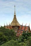 Spectaculaire tempel van het architectuur de boeddhistische kunstwerk Stock Afbeelding