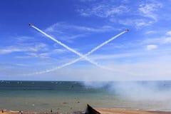 Spectacular aerobatics Stock Photo