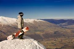 Spectacular alpine view Royalty Free Stock Photos