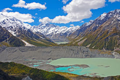 Spectacular Alpine Vista in New Zealand Stock Image
