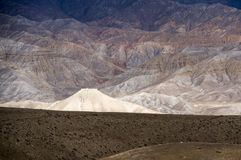 Spectacular altitude desert of Mustang Stock Photo