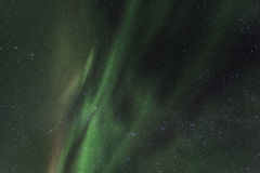 Spectacular aurora borealis (northern lights). Royalty Free Stock Photos