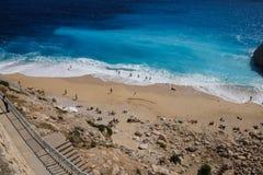 Spectacular blues of the Aegean Sea Royalty Free Stock Photos
