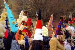 Spectacular carnival children masks Stock Photography