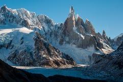 Spectacular Cerro Torre, Fitz Roy, Argentina stock images
