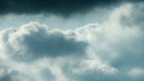 Spectacular clouds cover sky,Altocumulus,dusk. stock video