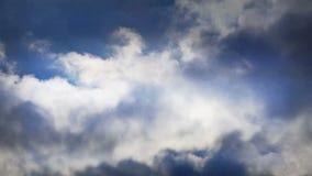 Spectacular clouds cover sky,Altocumulus,dusk,sandstorm. stock footage