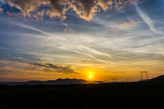 Spectacular clouds Stock Photos