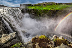 Spectacular Dettifoss waterfall, Iceland Royalty Free Stock Image